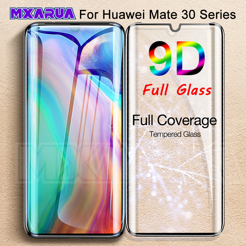 9D Tempered Glass For Huawei Mate 30 20 Pro 30 Lite 20X Screen Protector Mate 20 10 9 Lite Pro Safety Protective Glass Film Case