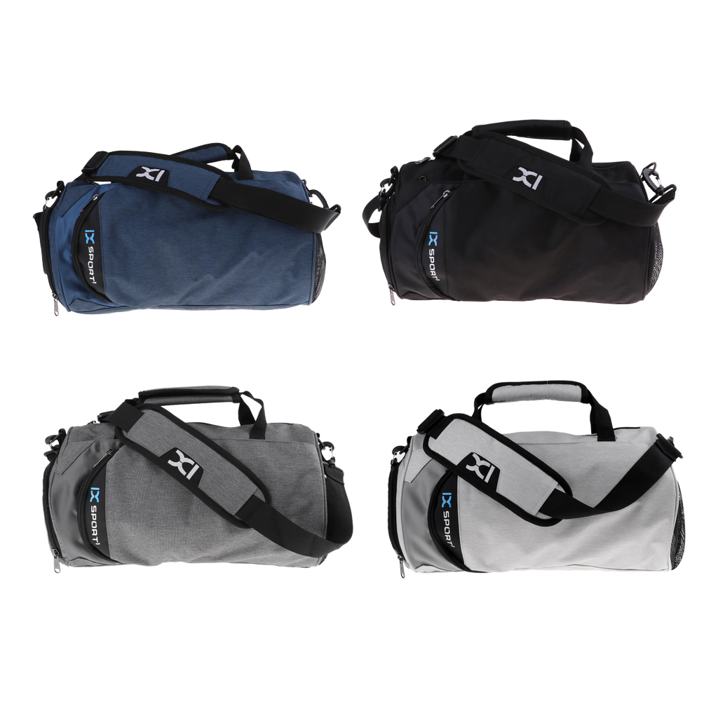 Gym Bags Travel Duffle Bags Outdoor Carry Handbag Waterproof Durable With Shoe Storage & Shoulder Strap For Fitness Camping