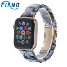 цена на Imitation Ceramic Strap Band for APPLE Watch 3/2/1 42mm/38mm Iwatch Bracelet Wrist Resin Belt Watch Accessories Watchband