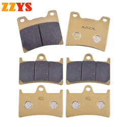 Motorcycle Front and Rear Brake Pads For Yamaha YZF 600RR YZF600RR YZF 1000 RR YZF1000RR BT1100 XJR1300M XJR1300 SP 2002-2006