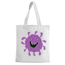 Shopping Bag Canvas Bag Tote Bag Cartoon Picture Print Canvas Bag Casual White Shoulder Bag Fashion Environment-friendly Bag