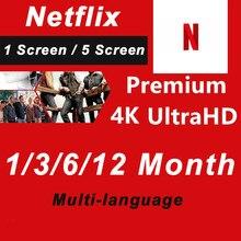 Big Sale! Netflixes premium acc 1 telas em todo o mundo
