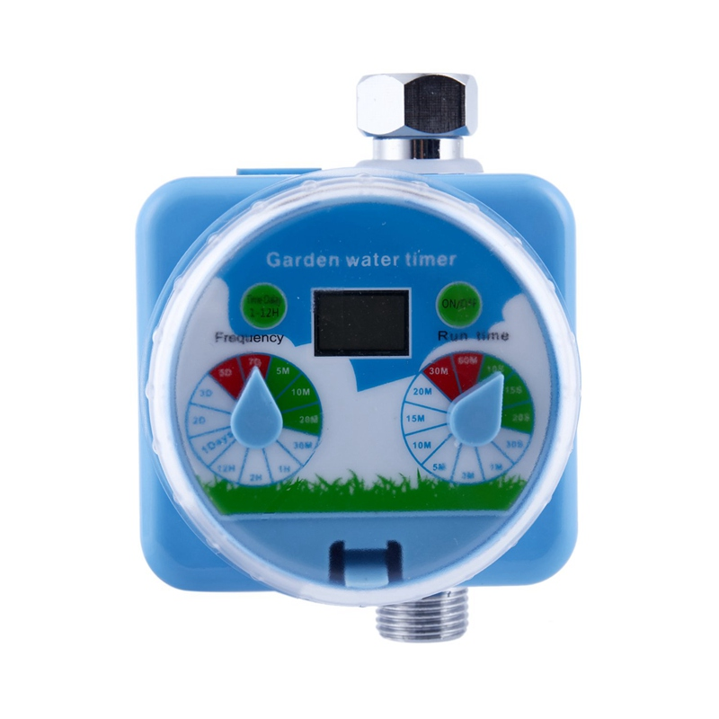 Rain Sensor Lcd Garden Irrigation Timer Automatic Watering Controller Automatic Reboot System Autoplay Garden Water Timers     - title=