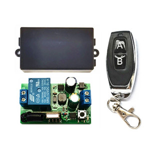 Универсальный Радиочастотный пульт дистанционного управления 433 МГц, 85 В ~ 250 В, 110 В, 220 В, 1CH, релейный модуль приемника