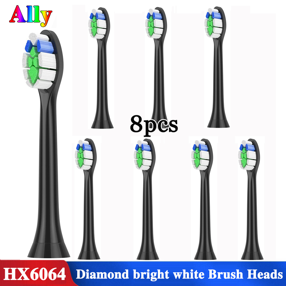 For Philips Sonicare W2 Optimal White HX6063/96 Replacement Brush Heads FlexCare Healthy White Electric Toothbrush Heads