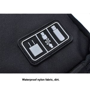 Image 5 - Kabel Organizer System Kit Fall USB Daten Kabel Kopfhörer Draht Stift Power Bank Lagerung Taschen Digitale Gadget Geräte Reise