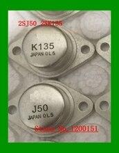 2 stks/partij 2SJ50 2SK135 J50 K135 EEN paar TE 3