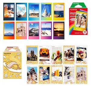 Image 2 - מקורי Fujifilm Instax מיני סרט 10 גיליונות מיידי סרט מיני 8 מיני 9 תמונה עבור 7s 70 SP 1 SP 2 מיידי מצלמה