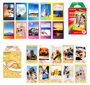 Image 2 - Original Fujifilm Instax mini Film 10 Sheets Instant Film mini 8 mini 9 Photo For 7s 70 SP 1 SP 2 Instant Camera