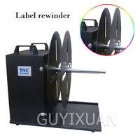 Industrial Barcode Label Rewinder Width 210mm Automatic synchronization rewinding machine Two way rollback