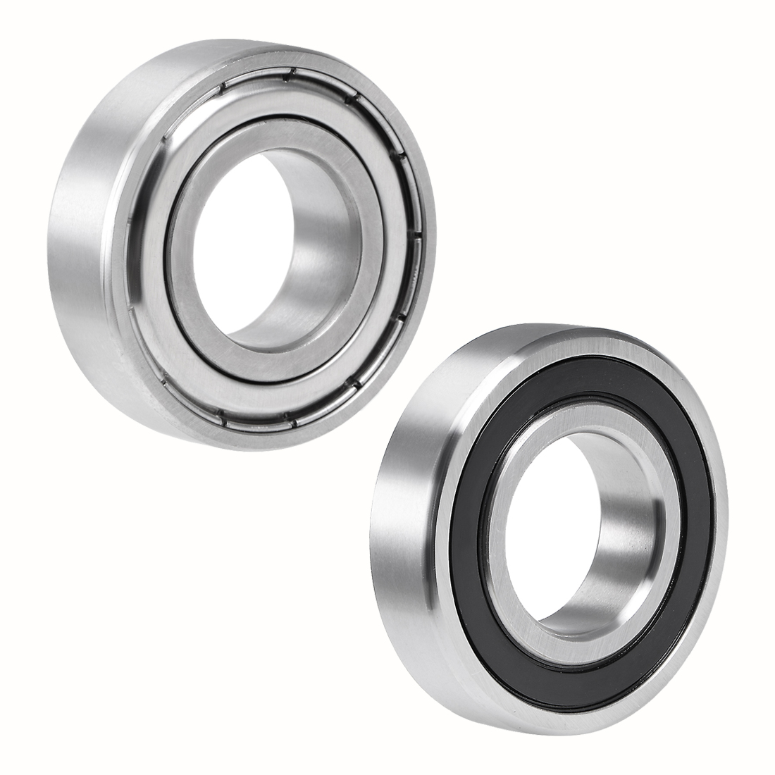 uxcell 1pcs V-Groove Ball Bearing Guide Pulley Bearings Shielded Type for 10mm 14mm 20mm 30mm Shaft image