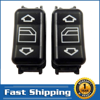 2 Pcs Power Master Window Control Switch for Mercedes-Benz W124 W126 W201 W463 190 260 300 350 420 560 1248204510KZ Left / Right image