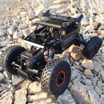1:18 2.4G Rock Crawler Car Remote Control Toy Car Machine For Children Outdoor Toy Model Off-Road Vehicle Toys Christmas Gifts 2