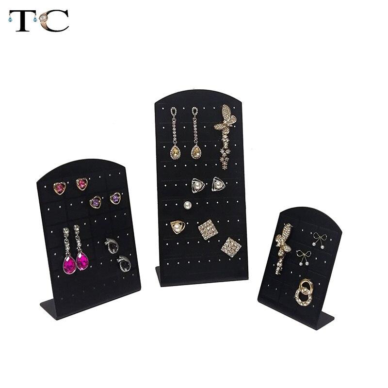 Earrings Display Stand Earring Holder Rack Jewelry Rack  Plastic Earring Organizer Organizador De Joyas for 12/24/36 Pairs
