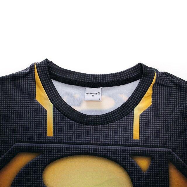 Мужская компрессионная 3D футболка Supermen 4