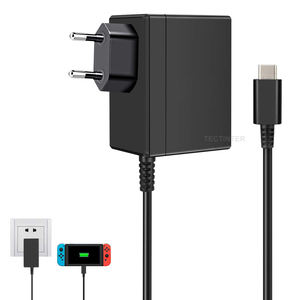 Image 4 - AC Adapter Charger Accessory For Nintend Switch NS Game Console EU/US Plug Wall Charge Charging USB Type C Power