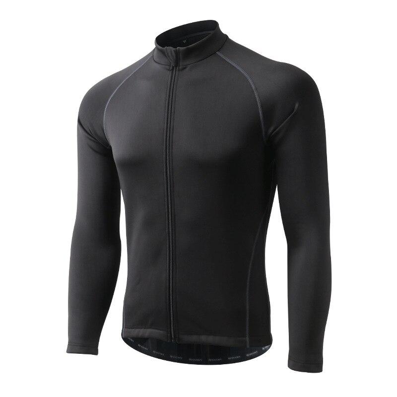 Hiver thermique Sports de plein air veste cyclisme Maillot à manches longues vélo vêtements imperméable coupe vent XINTOWN Maillot vtt vêtements - 2