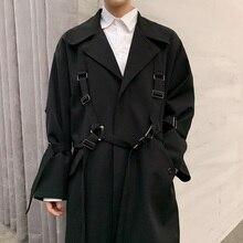 2020 Spring Autumn Male Streetwear Fashion Windbreaker Jacket Men High Street Pu