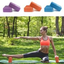 EVA Yoga Block Brick Foam Pilates Cork Gym Equipment Home Sport Fitness Accessories Body Stretching Workout Deporte en Casa