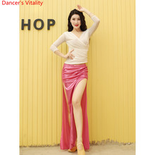 Belly Dance Practice Clothes New Training Costume Tencel Top