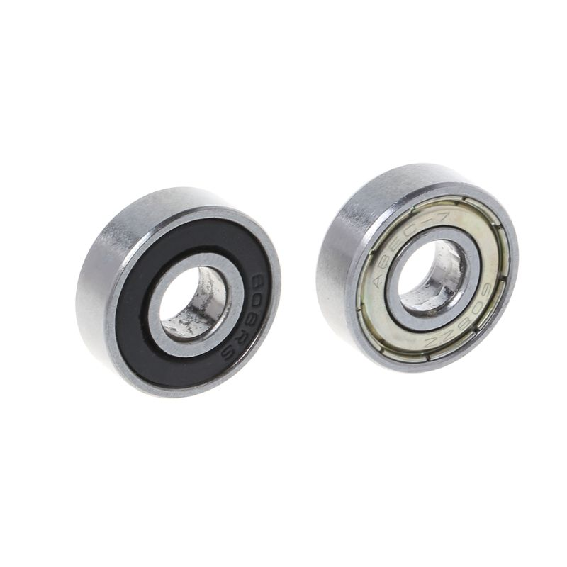 10 Pcs Bike Skateboard Scooter Ball Roller Bearing Skate Spare Parts Groefkogellagers 8 X 22 X 7 Mm-608ZZ/608RS U1JC