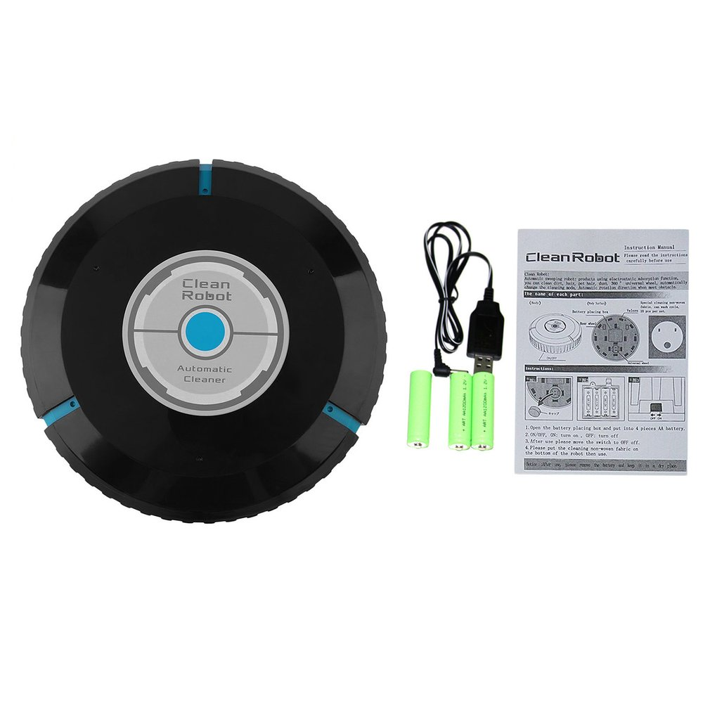 Smart Floor Cleaning Robot High Efficient Home Automatic Vacuum Auto Dust Cleaner Sweeper Mop For Household
