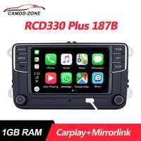 RCD330 Plus RCD330G Carplay Mirrorlink MIB autoradio RCD 330 330G 6RD 035 187B pour VW Golf 5 6 Jetta CC MK6 MK5 Passat Tiguan