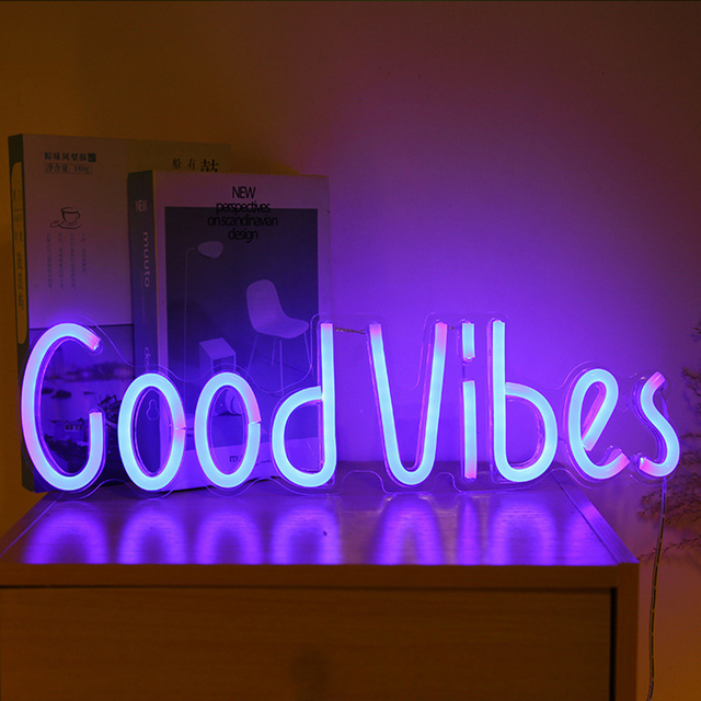Good Vibes Neon Sign 8