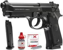 Beretta-rifle de aire BB de acero, retroceso (juego), señal de metal, M92, A1, 177