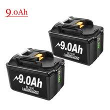 BL1830 18V 9.0Ah литий-ионный аккумулятор для Makita BL1815 BL1835 BL1840 BL1850 BL1860 LXT400 194204-5 194205-3 беспроводные электроинструменты