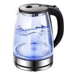 Szklany czajnik elektryczny wyłącza się automatycznie automatyczne wyłączanie ze stali nierdzewnej anty gorący czajnik elektryczny urządzenia kuchenne gospodarstwa domowego ue w Czajniki elektryczne od AGD na