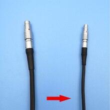 5 pinos para mini cabo de código de tempo do conector de 4 pinos para câmeras vermelhas cabo de sincronização de entrada timecode ultrasync cabo para arri épico vermelho alexa