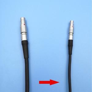 Image 1 - 5 pinos para mini cabo de código de tempo do conector de 4 pinos para câmeras vermelhas cabo de sincronização de entrada timecode ultrasync cabo para arri épico vermelho alexa