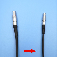 Cable de 5 pines a Mini conector de 4 pines Cable de código de tiempo para cámaras Rojas Cable de sincronización de entrada cable Timecode UltraSync para Red Epic ANCI Alexa