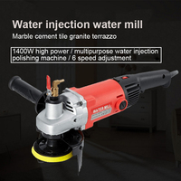 Electric Polishing Machine 220V 1400W Variable Speed Wet Grinder Car Polishing Machine Furniture Waxing Tool Auto Parts