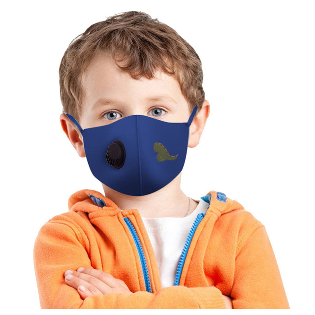 3pcs Kids Outdoor Protect Mask Safety Reusable Washable Protect Face Mask Adjustable Dustproof Mouth Mask#3 3
