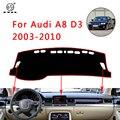 PNSL крышка приборной панели автомобиля тире коврик приборной панели коврик для Audi A8 D3 2003 ~ 2010 Защита от Солнца Анти-скольжение анти-УФ