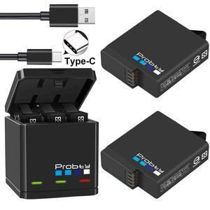 Image 3 - Original probty for GoPro Hero 7 hero 6 hero 5 Black Batteries or Triple Charger for GoPro Hero7 Black Battery Accessories