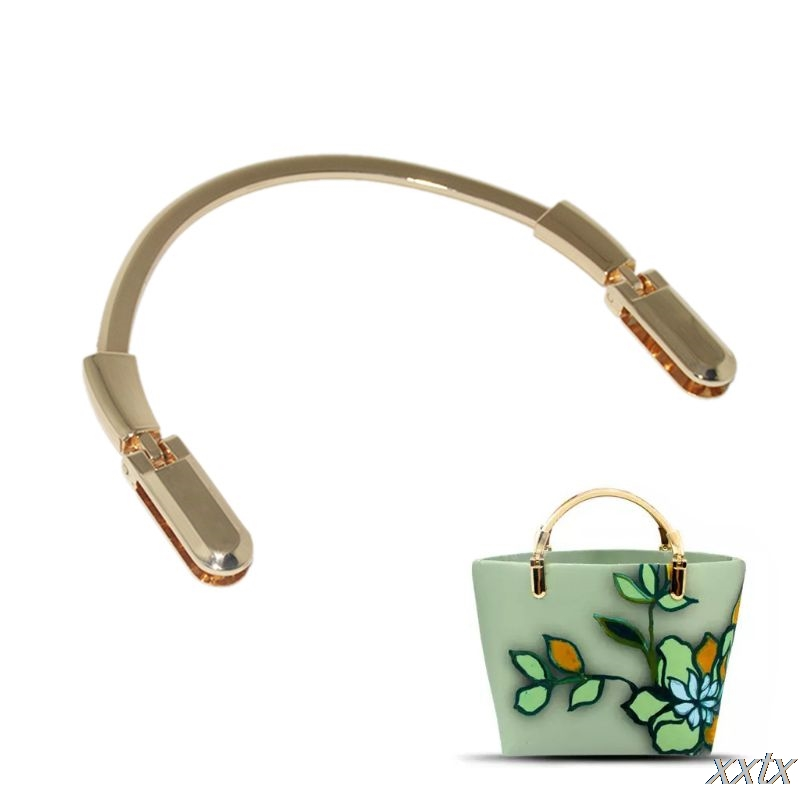 Metal Purse Making Handbag Bag Handle Replacement DIY Crafts A69C