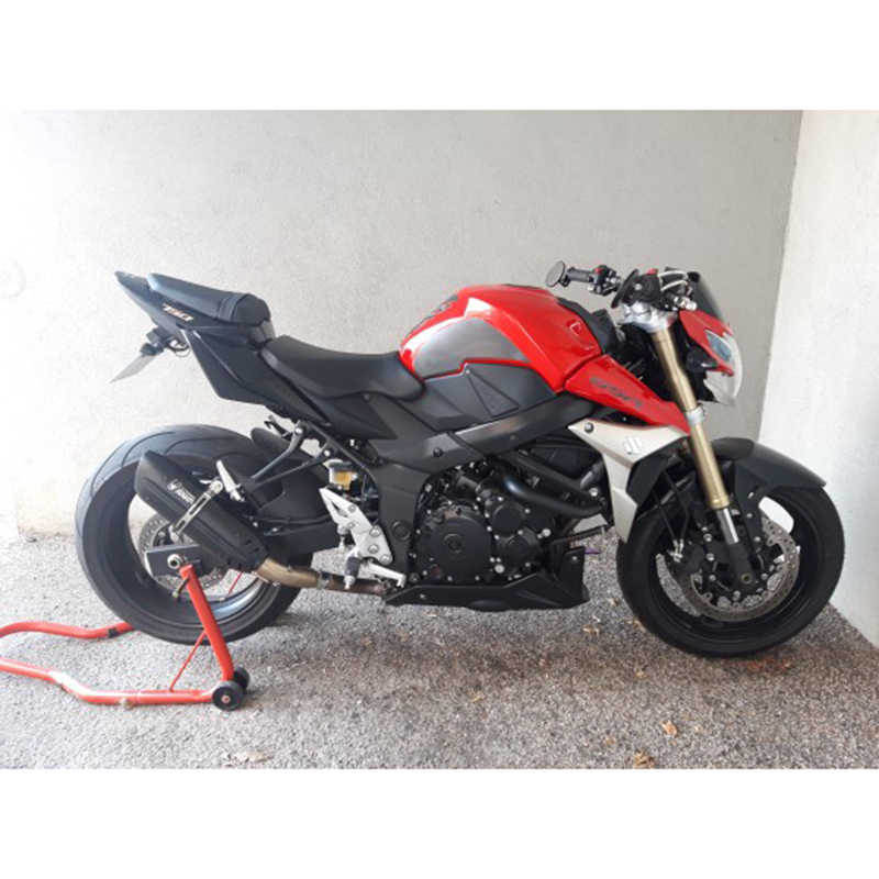 370 470mm uniwersalny Moto rcycle 51MM wydechowy tłumik do rury ucieczka moto mivv dla cb650f cb1000r cbr250r er6n sv650 crf 230 Z800 R1