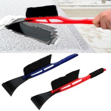 2 In 1 Ice Scraper Snow Shovel Brush For Auto Car Wash