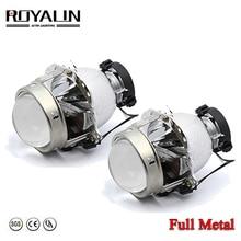 ROYALIN EVOX R 2.0 Headlight Bi Xenon Projector Lenses D1S D2S for BMW E39 E60 Ford Audi A6 C5 C6 W211 Passat B6 Skoda Fabia