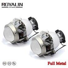 ROYALIN EVOX R 2.0 phare bi xénon projecteur lentilles D1S D2S pour BMW E39 E60 Ford Audi A6 C5 C6 W211 Passat B6 Skoda Fabia