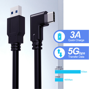 Image 3 - 3M/5M Data Line Oplaadkabel Voor Oculus Quest/2 Link Vr Headset Usb 3.1 Type C Data Transfer USB A Type C Kabel Vr Accessoire