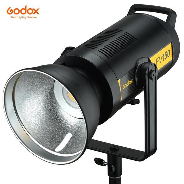 Godox FV150 150W FV200 200W High Speed Sync Flash LED Light with Built in 2.4G Wireless Receiver +Xpro Remote Control Godox