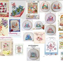 Cross-Stitch-Kit Rose-Embroidery Counted Cotton Vase DIM with 65048 Hh RS