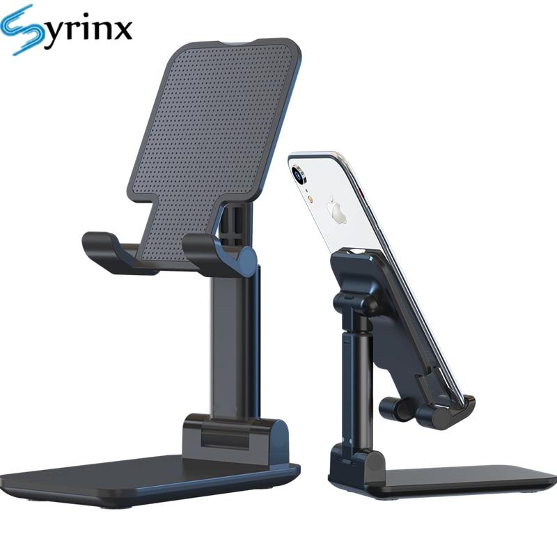 2020 Desk Mobile Phone Holder Stand For IPhone IPad Adjustable Metal Desktop Tablet Holder Universal Table Cell Foldable Support
