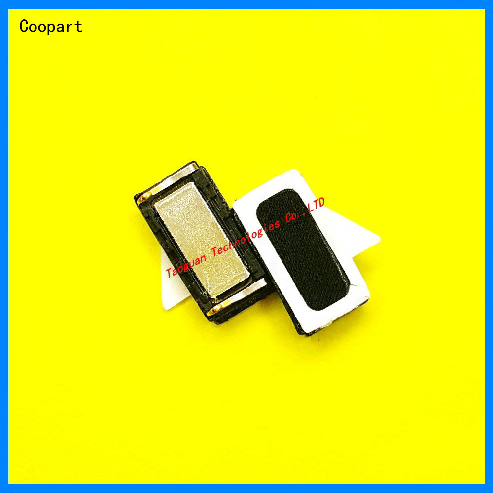 2pcs/lot Coopart New Earpiece Ear Speaker Receiver Replacement For Lenovo K5 Note / K6 Note / K4 Note / K5 PLus Top Quality