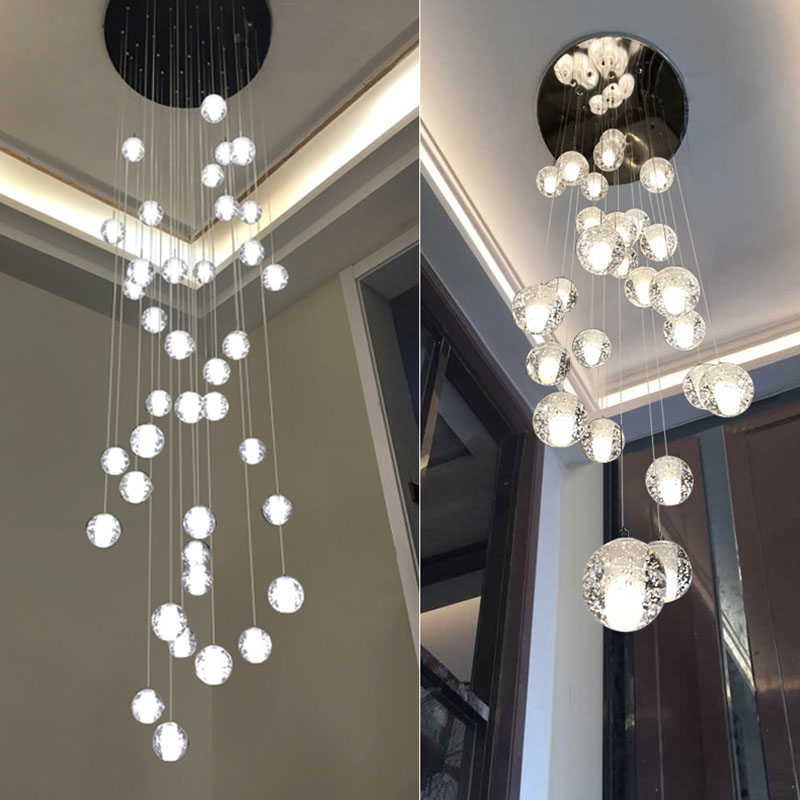 Modern Crystal Chandelier Big Lamp ...