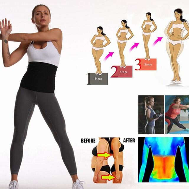 Newest Waist Trainer Neoprene Sauna Fat Burner Slimming Belt Corset Sweat Belt Women Weight Loss Waist Trimmer Workout Fitness 3